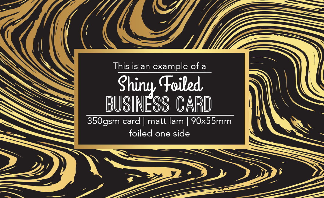 Shiny Foiled Cards