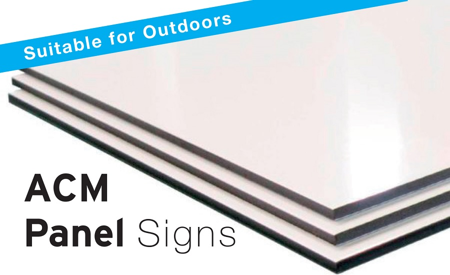 ACM panel signs